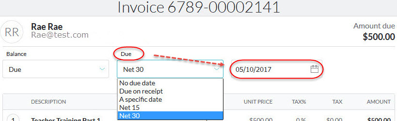 Silent Auction Receipt Word Creating An Invoice Excel Invoice Template Free Pdf with Paid Invoice Template Set The Maximum Number Of Days From The Invoice Date That The Buyer Has To  Pay For The Products Or Services By Default Due On Receipt Is Selected  If  Rent Receipt Template Ontario