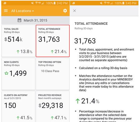 Understanding your Business Snapshot metrics (Business app, iOS)