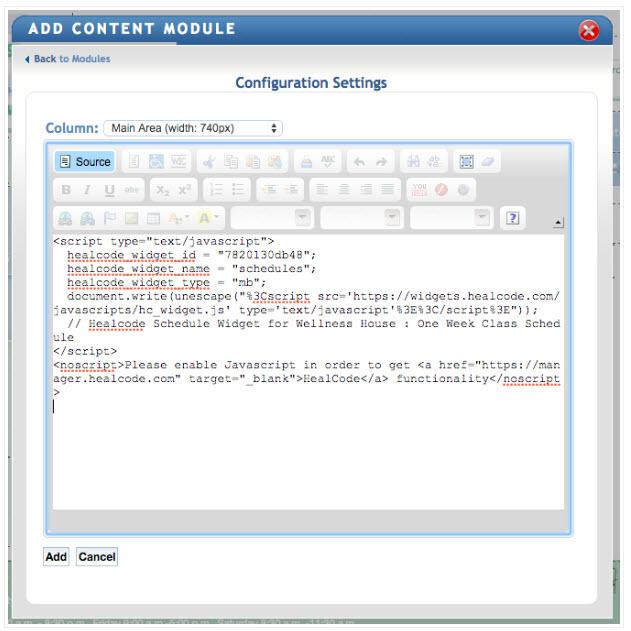 Putting widgets on American Eagle - branded web tools