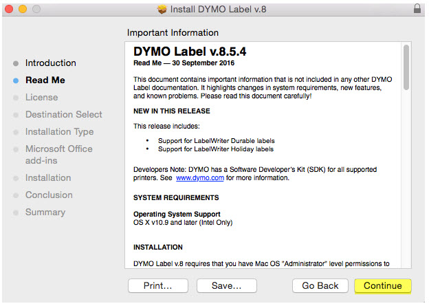 Install Software Dymo Labelwriter 400 Install Software