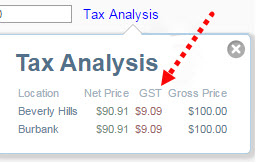 tax inclusive pricing vat or gst