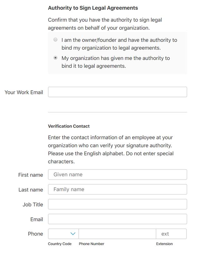Enrolling In The Apple Developer Program