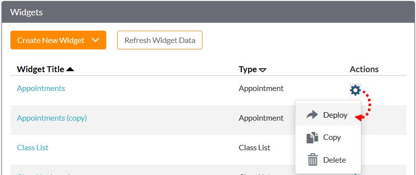 Installing widgets on Facebook FAQ - branded web tools