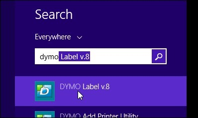Printing multiple barcode labels using the DYMO Utility software (PC)