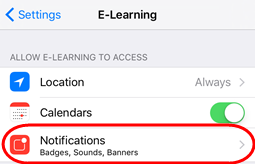 How do I enable, or disable, push notifications? (Branded app, iOS)