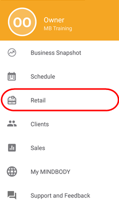 Note: There Are A Number Of Other Ways To Start A Contract Sale In The  MINDBODY Business App: While Checking Out An Appointment, While Signing A  Client Into ...