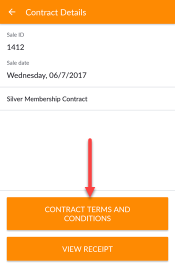 How Can I View A Clients Signed Contract Agreement Business App