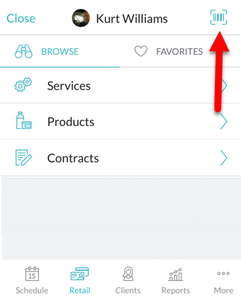Adding items to the cart (Business app, iOS)