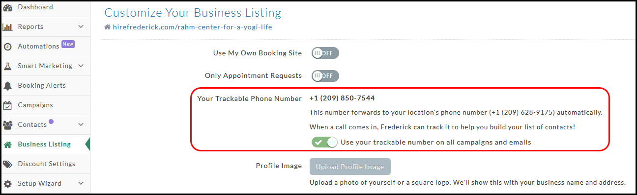 find a listing by phone number