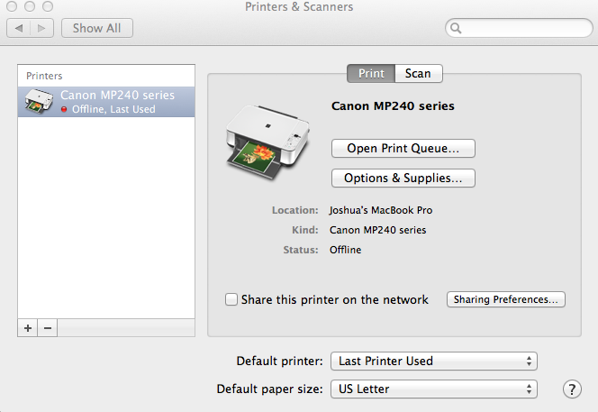 Thermal Receipt Printer (Eco-Friendly) - STAR MICRONICS TSP 143 (Mac