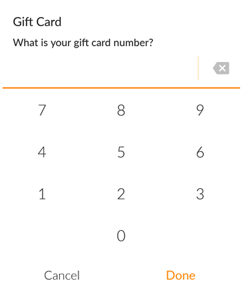 How do I redeem a gift card? (MINDBODY app, Android)