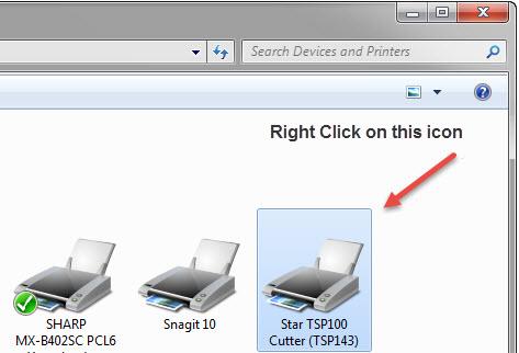 TSP 100 installation for Windows 7 (32- or 64-bit OS)